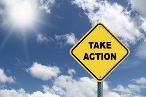 Take Action signpost